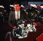 Engine designer and technical boss Massimo Bordi