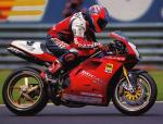 Carl Fogarty taking the 916 to the 1995 WSB championship