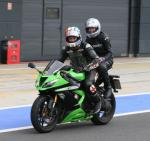 pillion ride with MCN road tester Chad